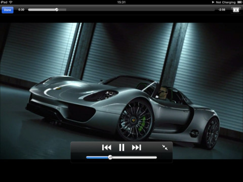Porsche Pad Cinema