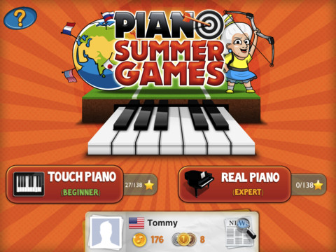Piano Summer Games
