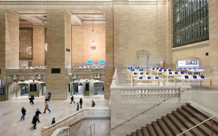 Grand Central apple stores