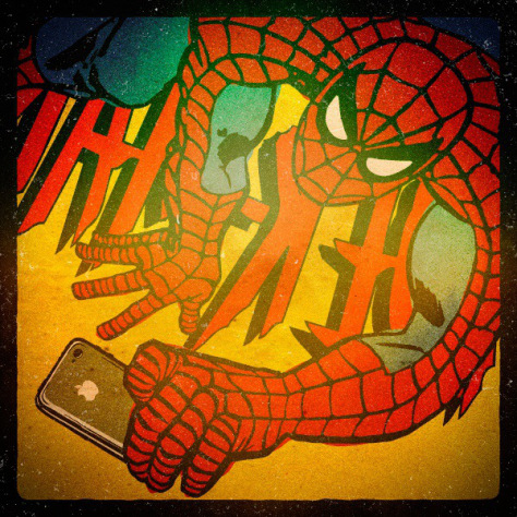 selfie-spiderman