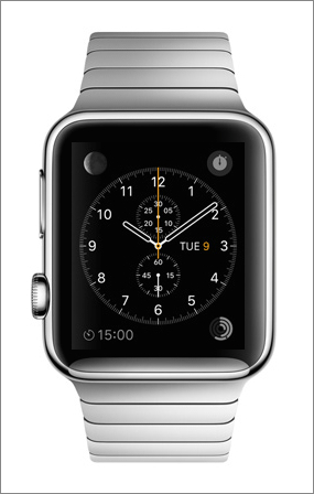 Apple-Watch-gaucher