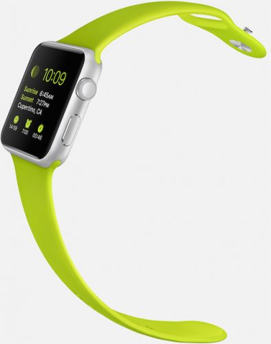 Apple-Watch-sport-green-band