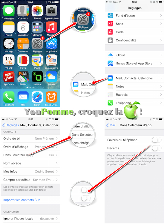 supprimer-contacts-favoris-recents-ios-8