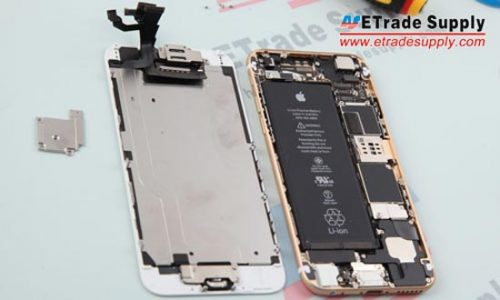 5. Maintenant, le dos de l'iPhone 6