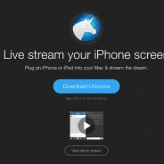 Streaming Unicorns, une application Mac pour faire du streaming d'un écran iPhone ou iPad